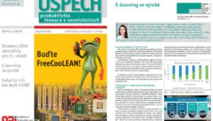 Článek: E-learning a jeho praktické využití ve výrobě
